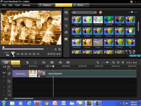 Tutorial Cara Menggunakan Berbagai Fitur Corel VideoStudio Pro X4