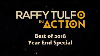 RAFFY TULFO IN ACTION YEAR-END SPECIAL 2018!