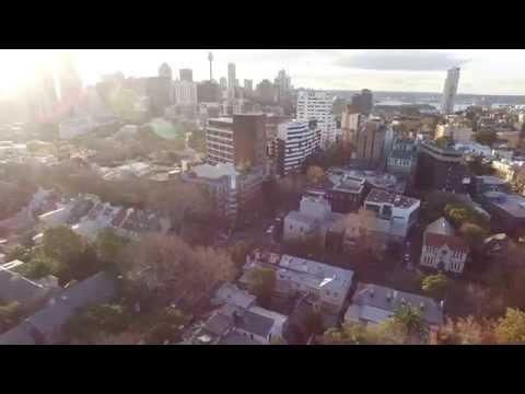 4K Australia Sydeny Drone aerial view - DJI phantom 3