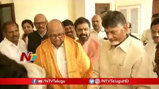AP CM Chandrababu to Meet Opposition Leaders in Delhi Tomorrow | Anti Front BJP | NTV