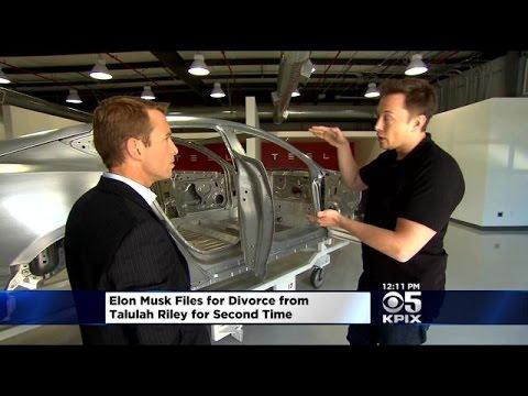 Tesla CEO Elon Musk To Divorce Woman He Married Twice