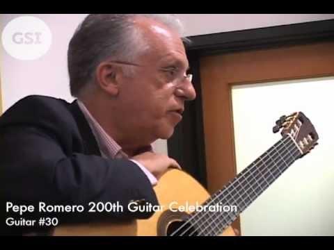 Pepe Romero Jr.'s 200th Guitar Celebration - #30: Classical Guitar at Guitar Salon International