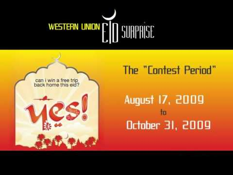 WESTERN UNION  Eid Surprise