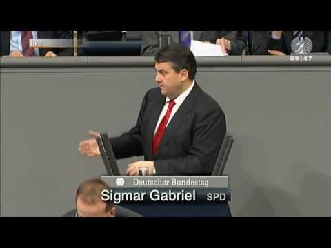 """Sigmar Gabriel in der Atom-Debatte zu Merkel: """"Sie haben Sicherheit gegen Geld getauscht"""