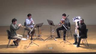 "Opening Theme from ""Ama-Chan"" (TV Program) for brass quartet"