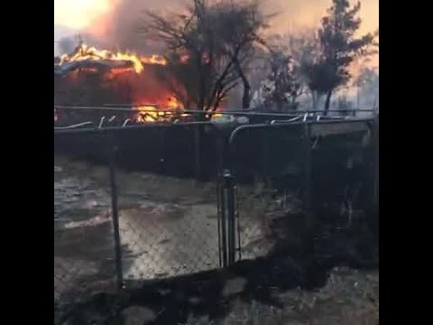 Erskine Fire Destroys over 60 homes in Lake Isabella