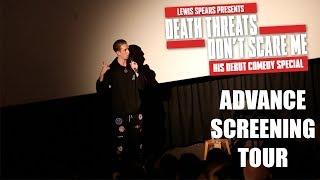 Death Threats Don't Scare Me. - Advance Screening Cinema Tour