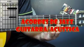 ACORDES DE JAZZ - CIRCULO MUSICAL GUITARRA TUTORIAL