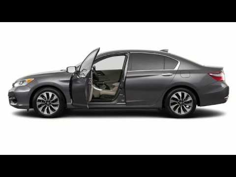 2017 Honda Accord Hybrid Video