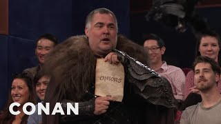 A Major Spoiler About The Most Epic Show On Television - CONAN on TBS