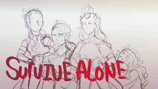 My DND characters try not to die alone - Animatic