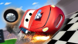Tom the Tow Truck -  Crash Bang Wallop! - Car City ! Cars and Trucks Cartoon for kids