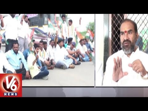 Congress Leaders Holds Bandh Over Vemulawada Temple Development Funds | V6 News