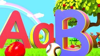 A for Apple - Learn ABC Phonics Song & Nursery Rhymes by Little Treehouse