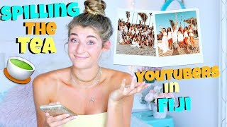 A Week In Fiji With YouTubers! Spilling The Tea! I Might Regret This!