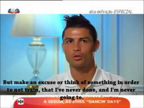 Cristiano Ronaldo on Alta Definição- Part 1/4 - With Subtitles