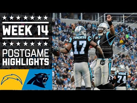 Chargers Vs Panthers Nfl Week 14 Game Highlights