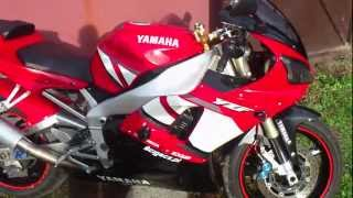 Yamaha R1 2002 Custom Muzzy Exhaust Sound