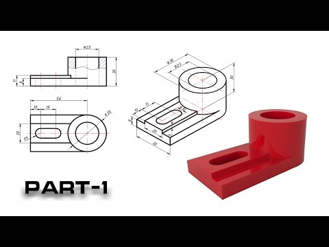 AutoCAD 2D and Isometric drawing-1