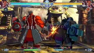 BlazBlue Central Fiction - Speedstar Course C as Tager Stylish