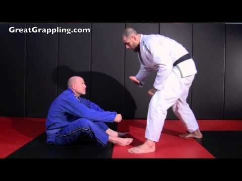 Open Guard Pass Zipper Pass
