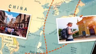 Travel Map Slideshow