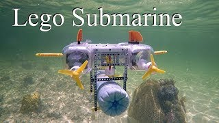 Lego Submarine (MOC) -Atlantic Ocean Adventure