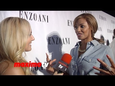 K.D. Aubert on EDM Music | INTERVIEW | 2014 ENZOANI Fashion Event