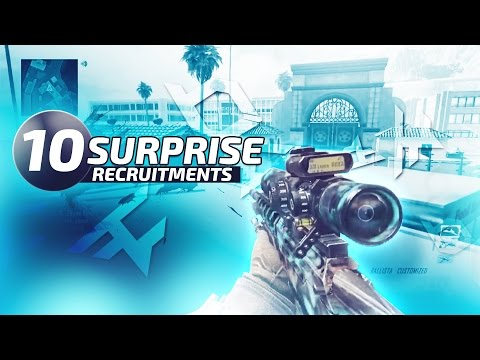 Red Scarce: SURPRISE RECRUITING 12 MEMBERS!