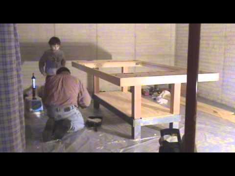 Slot car track building time lapse - YouTube