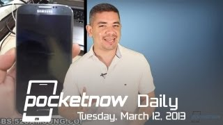 Galaxy S 4 Caught On Video, HTC One Unboxing, iPhone 5S Enhancements & More - Pocketnow Daily