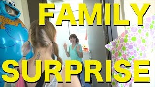 Surprising Our Families in Canada