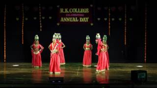 CHIRMI SONG IN R.K. COLLEGE BY POOJA CHAUBEY