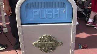 PUSH the Trash Can does Jaws, Indiana Jones at Walt Disney World