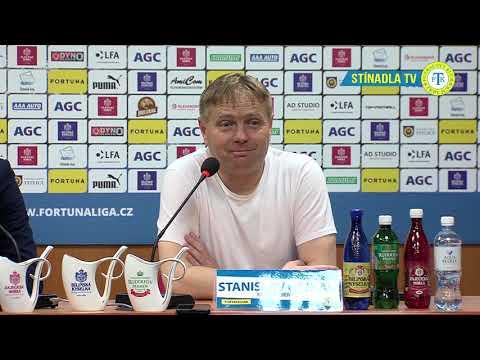 Tisková konference domácího týmu po utkání Teplice - Slovácko (30.3.2019)
