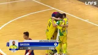 Gol de Daniel Giasson contra Levante - Temp 17/18