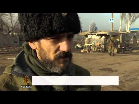 Clashes in Ukraine despite ceasefire