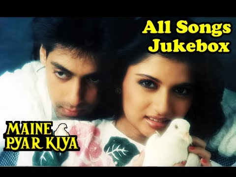 Maine Pyar Kiya - All Songs Jukebox - Bollywood Evergreen Superhit Romantic Movie Songs video