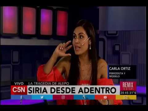 Siria desde adentro (testimonio Carla Ortiz)
