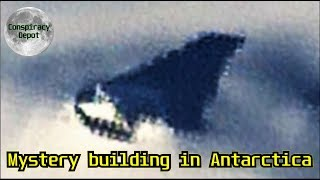 HUGE Building in ANTARCTICA on Google Earth