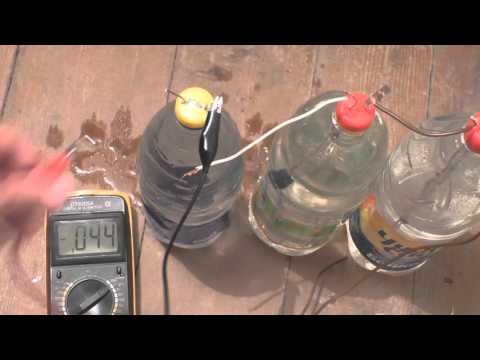 Из чего сделать батарейку своими руками в домашних условиях