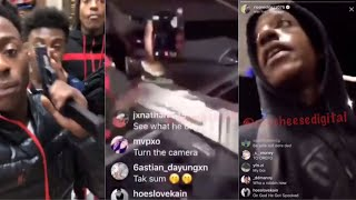 SAVAGE Catches RICO RECKLEZZ at GUN POINT at a GAS STATION, Rico Recklezz RESPONDS