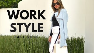 How To Look Stylish At Work Feat. Express | Work Outfits Fall 2018