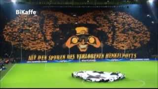 Borussia Dortmund ULTRAS vs Málaga Champions League 09-04-2013 Full HD