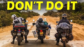 COMMON MISTAKES on a LONG MOTORCYCLE TRIP (do you make them?)