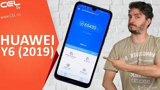 Huawei Y6 (2019) | Design îndrăzneț și ecran generos | Unboxing & Review CEL.ro