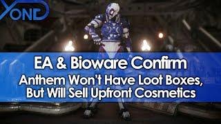 EA & Bioware Confirm Anthem Won