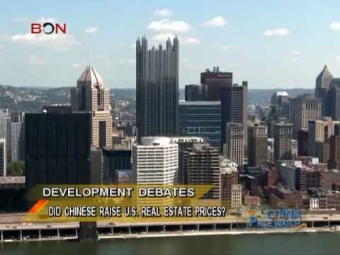 Did Chinese raise US real estate prices? - China Price Watch - May 06, 2013 - BONTV China
