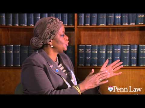 UN official Zainab Hawa Bangura Q&A with Penn Law's Rangita de Silva de Alwis