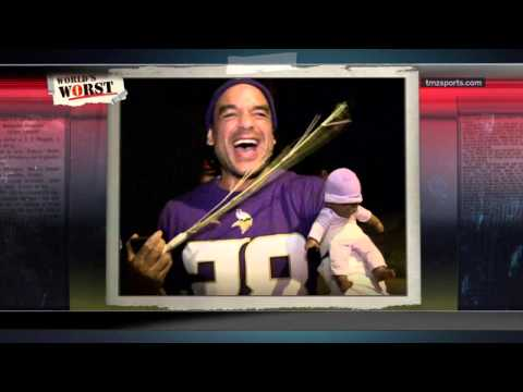 Adrian Peterson & Ray Rice Halloween Idiots Are World's Worst In Sports